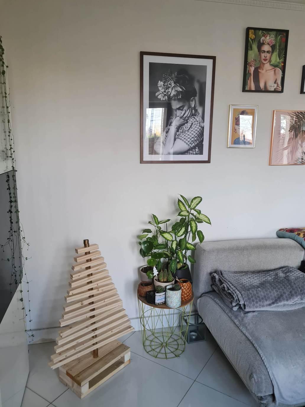20201208 131209 - DIY récup : fabriquer un sapin de Noël en bois avec des tasseaux