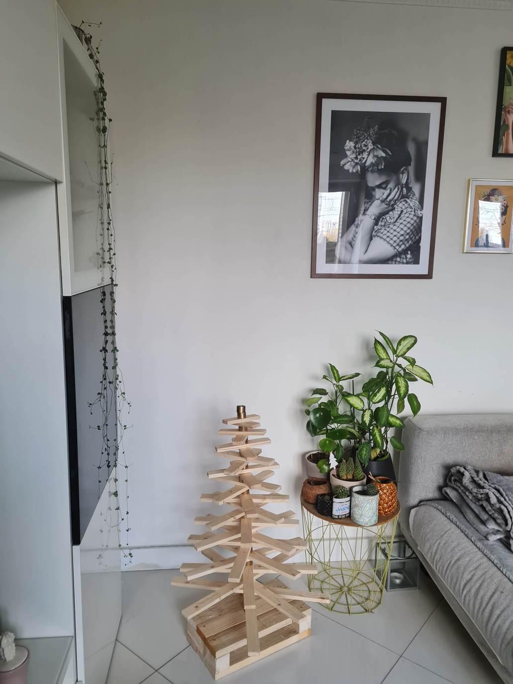 20201208 131521 - DIY récup : fabriquer un sapin de Noël en bois avec des tasseaux