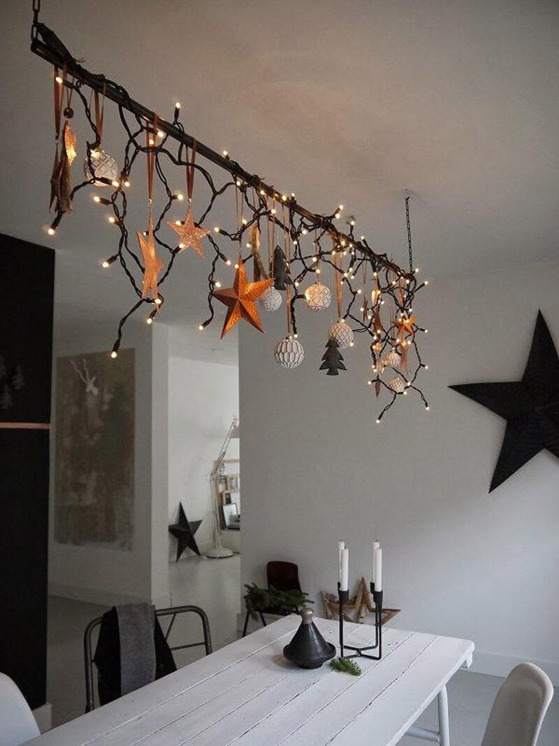 idee decoration guirlande lumineuse FrenchyFancy 1 - Inspiration : comment faire une déco de Noël pas kitsch