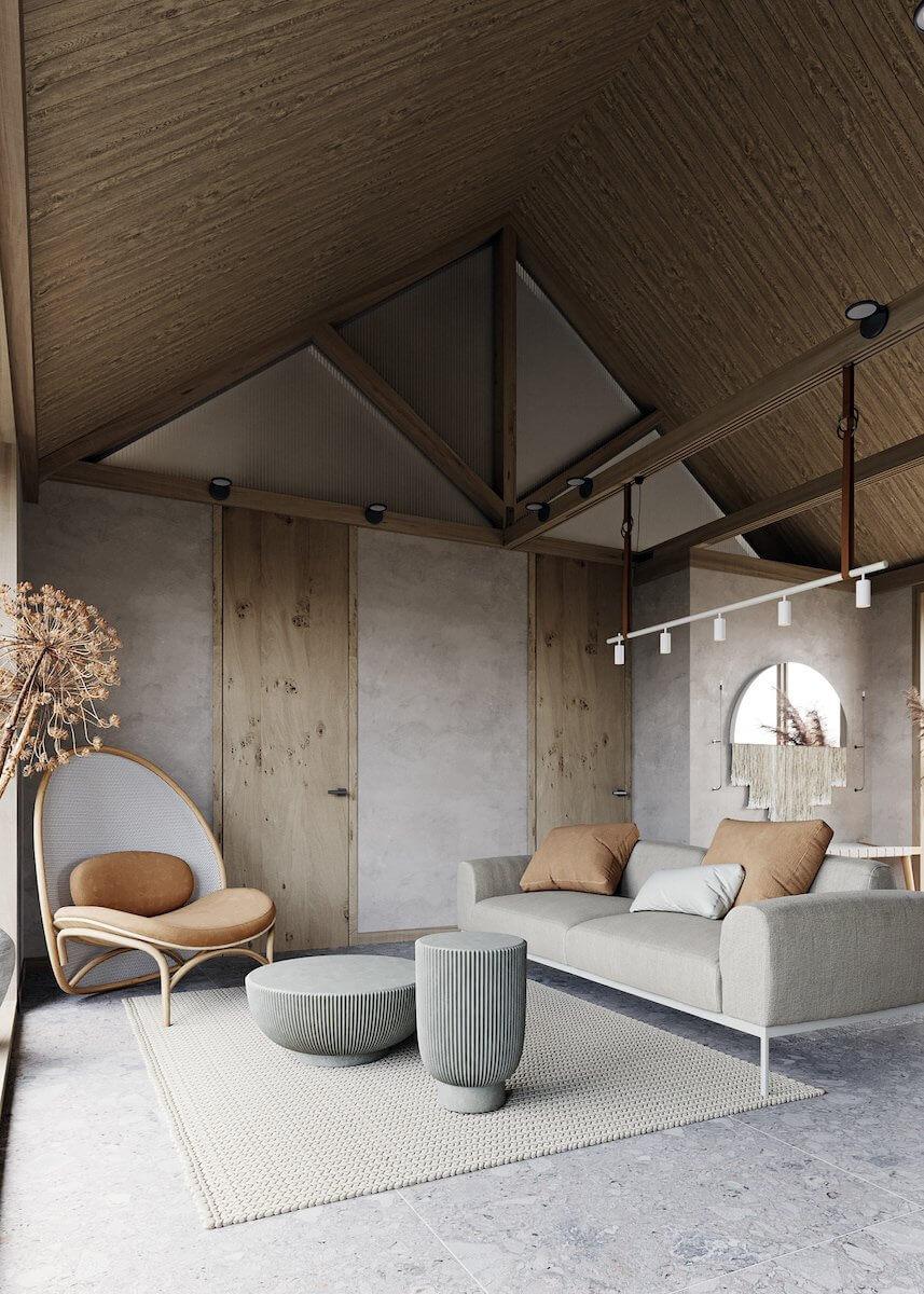 deco japandi salon design meuble design - Tendances meubles et décoration 2021 : le grand décryptage