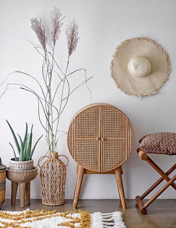 meuble ajoure dans decoration naturelle et douce - Tendances meubles et décoration 2021 : le grand décryptage