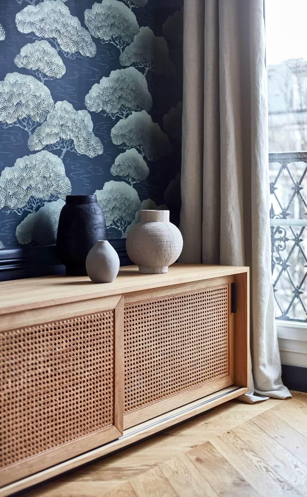 de nouveaux elements en adequation avec le caractere initial de lappartement 6114757 - Inspiration déco : 16 façons d'embellir les murs du salon
