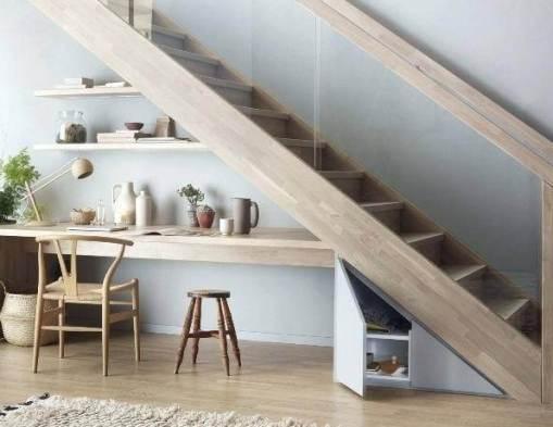 Comment décorer et aménager le dessous d'un escalier ?