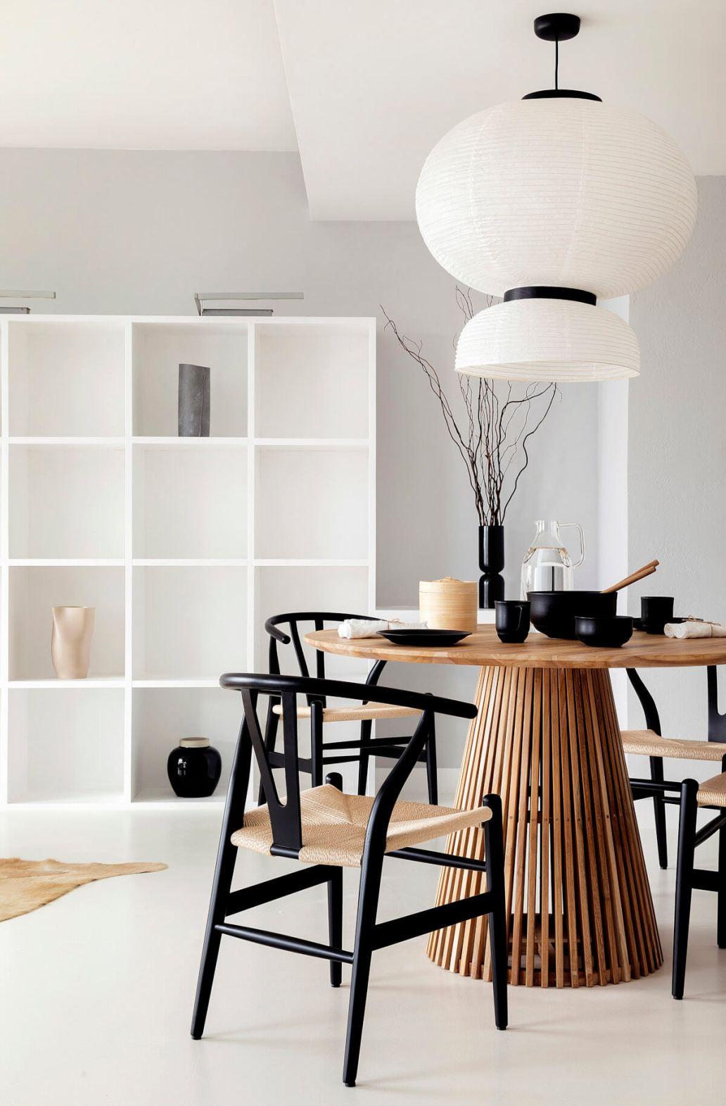 salle a manger minimaliste philosophie deco - 15 philosophies décoratives qui vous veulent du bien !