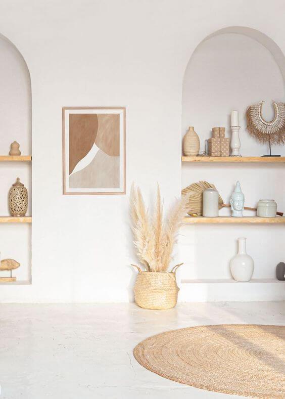 interieur couleur nude et tendance - Tendance Slow life : découvrir la décoration Slow living ou la Slow déco ?