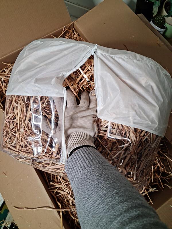 20210514 150216 - DIY jardin : Fabriquer un pouf original avec de la paille