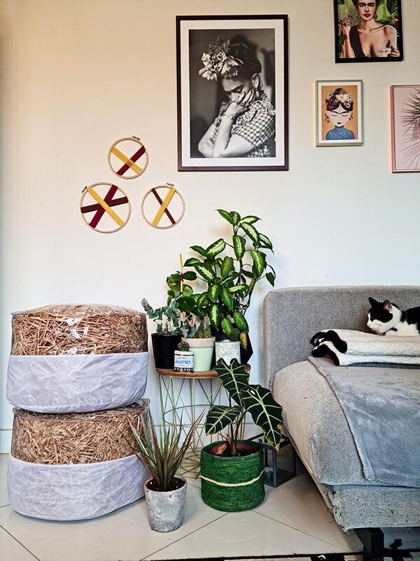 20210514 152826 - DIY jardin : Fabriquer un pouf original avec de la paille