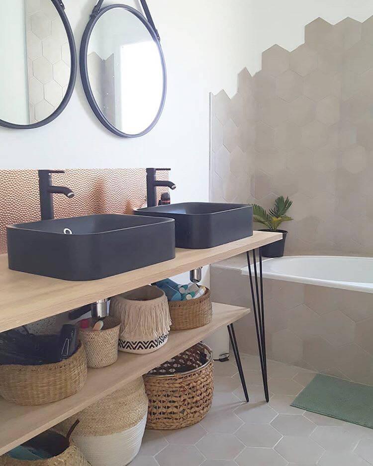 articlediy5 resultat - Inspiration : 10 idées déco pour la salle de bain à repiquer
