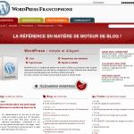 Le nouveau design de WordPress-fr.net
