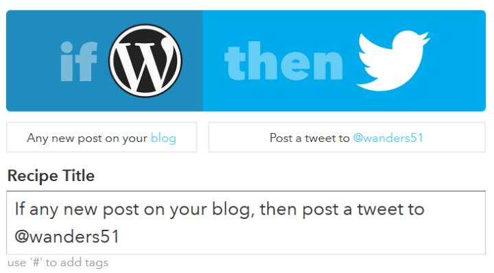 Poster un tweet quand un nouvel article est publié sur mon blog