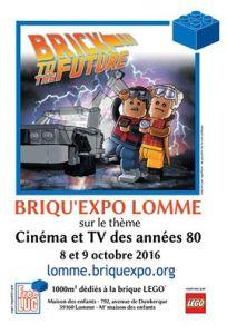 Briqu'Expo Lomme 2016 - Exposition 100% LEGO® @ Maison des enfants à Lomme
