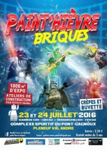 Paint'hievre briques - Exposition 100% LEGO @ Complexe sportif du Pont-Gagnoux - Pleneuf Val Andre