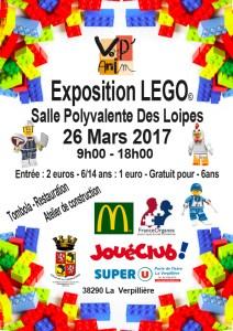 Exposition 100% LEGO® @ Gymnase des Loipes à La verpillière