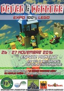 Brick à Montluc - Exposition 100% LEGO® @ Espace Montluc - St Etienne de Montluc