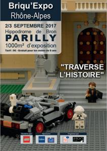 Briqu'Expo Rhône-Alpes 2017 - Exposition 100% LEGO® @ Hippodrome de Parilly à Bron