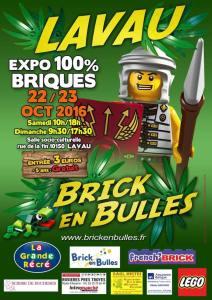 Brick en Bulles Lavau - Exposition 100% LEGO® @ Salle socio-culturelle - Lavau