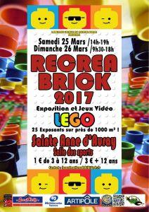 Récréabrick 2017 - Exposition 100% LEGO® @ Saint Anne-D'Auray