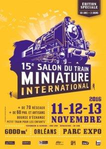15ème Salon international du Train Miniature @ Parc Expo - Orléans