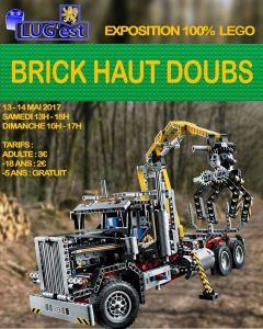 Brick Haut Doubs - Exposition 100% LEGO® @ Espace Rives du Doubs - Doubs