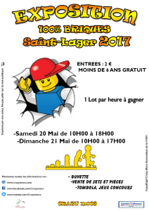 Crazy Mocs St Lager - Exposition 100% LEGO® @ St Lager