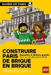 Construire Paris de Brique en Brique @ Espace Paris Rendez-Vous, Hôtel de Ville - PARIS