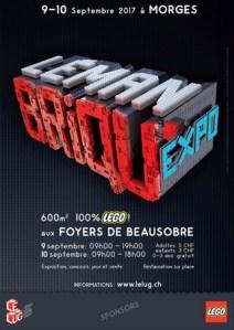 Leman Briqu'Expo 2017 - Exposition 100% LEGO® @ Foyers de Beausobre - Morges (Suisse)