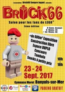 Brick 66 - Exposition 100% LEGO® @ Gymnase Jacques Moret