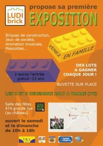 Ludibrick - Exposition LEGO® et Jeux de société @ Salles des fêtes - Ymare (76)