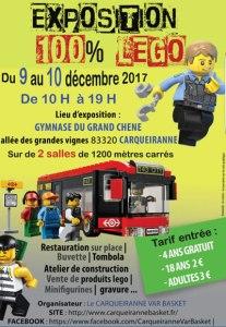 Exposition 100% LEGO @ Gymnase du Grand Chêne - Carqueiranne
