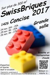Swissbriques 2017 - Exposition 100% LEGO® @ Grande Salle - Consice