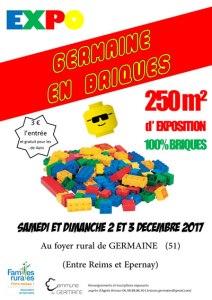 Germaine en Briques - Exposition 100% LEGO® @ Foyer rural - Germaine