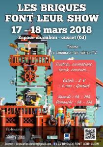 Exposition 100% LEGO® @ Espace Chambon à CUSSET (03)