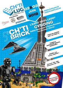Exposition 100% LEGO® Cysoing 2018 @ Salles Delecluse et Penny Brookes - Cysoing