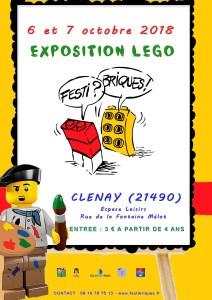 Exposition 100% LEGO® FestiBriques 2018 @ Espace de Loisirs - Clenay