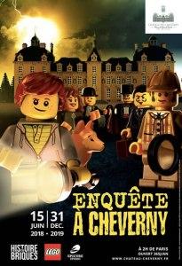 Histoire en Briques LEGO® : Mystère à Cheverny @ Château de Cheverny