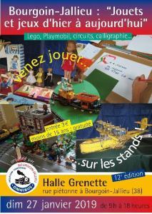 Salon du jouet @ Espace Grenette - Bourgoin Jallieu