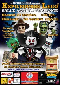 Exposition Bourse Lego® @ Salle Agora Russange