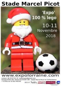 Exposition 100% LEGO® @ Stade Marcel Picot - Tomblaine