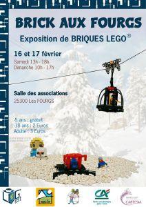 Exposition 100% LEGO® BRICK AUX FOURGS 2019 @ Salle des Associations - Les Fourgs