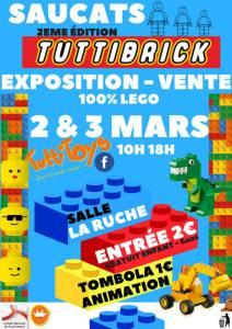 Exposition - Vente LEGO® Tuttibrick @ Salle La Ruche - Saucats
