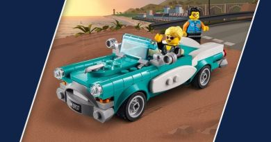 Les Bons Plans LEGO: L'ensemble Ideas 40448 Vintage Car OFFERT