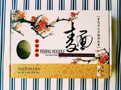 Box Peking Chow Mein Noodle