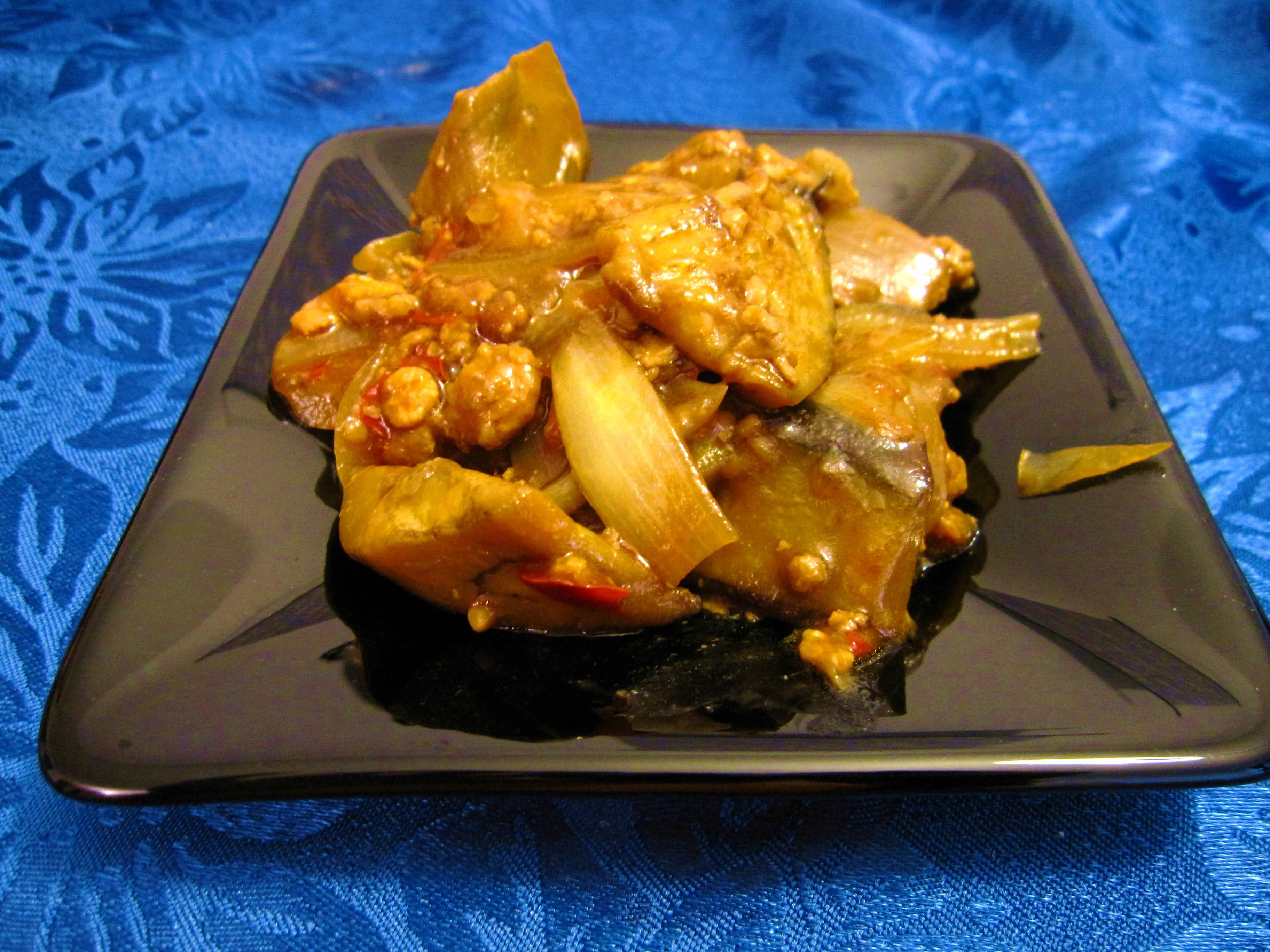 Spicy eggplant supreme