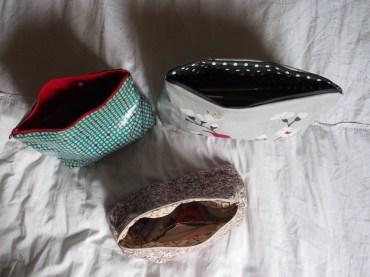 exemples de trousses de toilette