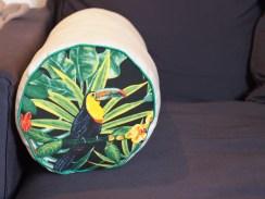 Coussin de canapé cylindrique