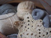 étoile à 5 branches au crochet knitting - star
