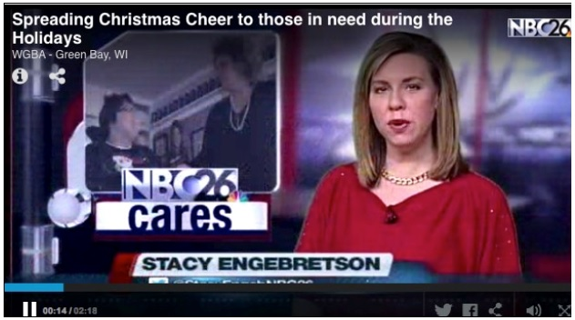 NBC26 Cares:  Christmas Cheer To Those In Need…..