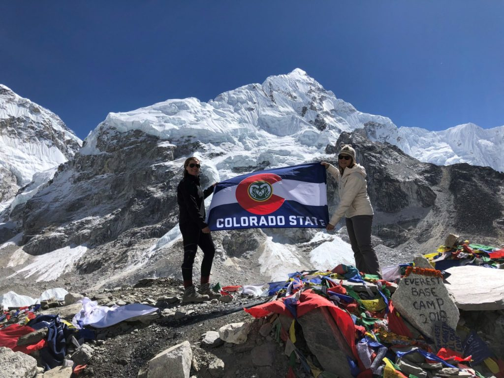 Csu Student Climbs Mount Everest To 17 500 Foot South Base