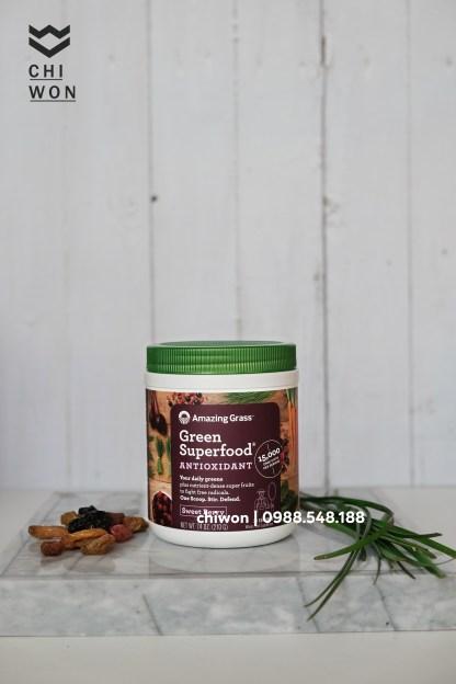 Bột rau hữu cơ Amazing Grass dòng Antioxidant