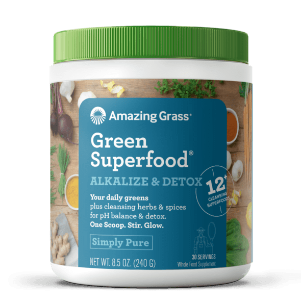 Amazing Grass Superfood Alkalize & Detox